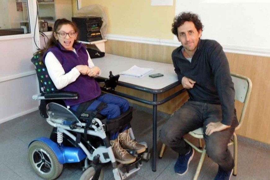 Gabriel, entrevistado por Guillermina Regner