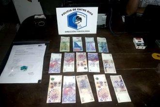 Desbarataron kioscos de venta de cocaína en dos ciudades entrerrianas