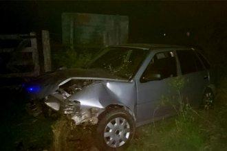 Violento despiste terminó con un muerto en ruta entrerriana