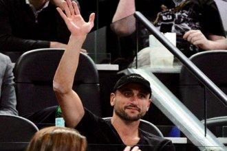 Una foto y una ovación marcan el regreso de Manu al estadio de los Spurs