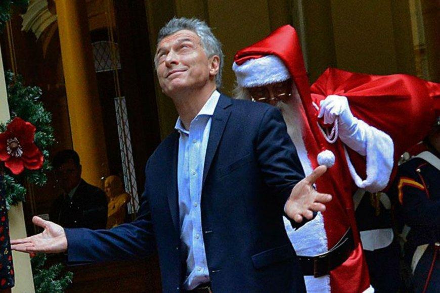 La gestión de Macri pagaría un bono.