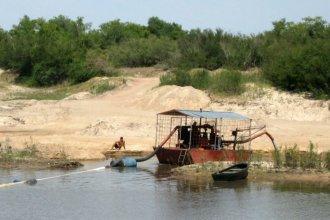 Quiere frenar la extracción desde Entre Ríos del nuevo oro de la minería, clave para el fracking