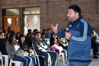 La visita de Mascherano que ayudó a una entrerriana a salir del mundo de las drogas