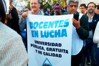 Docentes universitarios pararán la semana próxima en Entre Ríos
