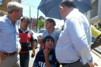 La familia de Bruno Escobar hizo un pedido a Frigerio y recibió una promesa