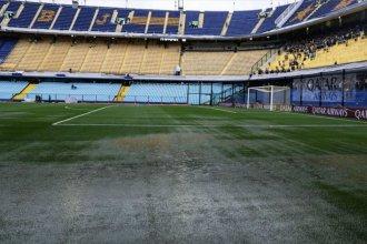 Partido suspendido por la lluvia: Boca y River juegan domingo a la tarde