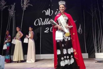 Ella es Brisa Tournour, Miss Villa Elisa 2018