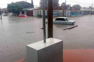 En un día, cayeron más de 250 milímetros en la capital entrerriana