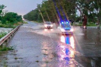Más de 500 familias están siendo asistidas en la provincia por el temporal