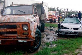 Joven murió tras pisar un espejo de agua y chocar contra un camión
