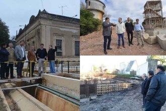 ¿Cuánto falta para inaugurar obras de provisión de agua en la costa del Río Uruguay?