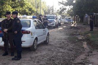 En busca de armas: realizan allanamientos en barrios de Concordia