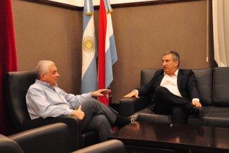 """En un encuentro privado de Urribarri y Lauritto: """"recordamos cuando juntos nos tocó gobernar Entre Ríos"""""""