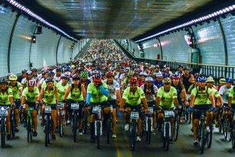 Más de 1.000 pedalistas cruzarán el Túnel Subfluvial
