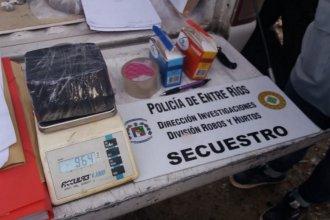 Buscaban una moto robada y encontraron un kilo y medio de cocaína de máxima pureza