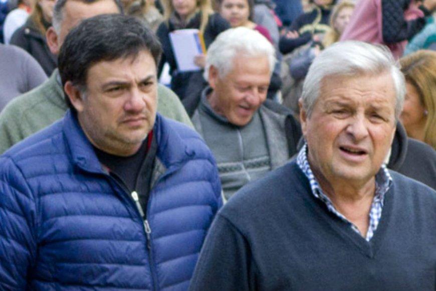 Lauritto, de campaña.