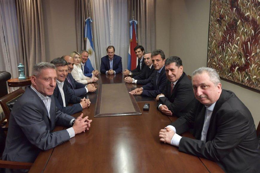 Bordet, Massa y gobernadores, en Casa de E.R.