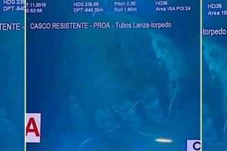 Preocupa la ubicación del ARA San Juan y la escena del accidente