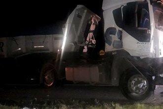 En menos de un día y a pocos kilómetros, hubo choque de camiones, de camionetas y un vuelco