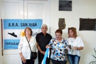 """Del ARA San Juan a su escuela: Fernando Mendoza empezó su """"eterna patrulla"""""""
