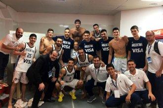 Argentina clasificó al mundial y Quinteros fue parte de la fiesta