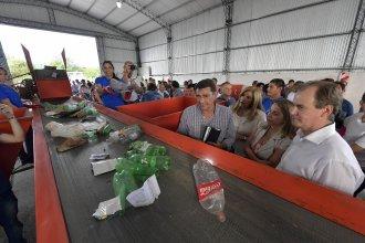 Bordet inauguró una planta de tratamiento de residuos y anunció que promulgará la Ley de Comunas