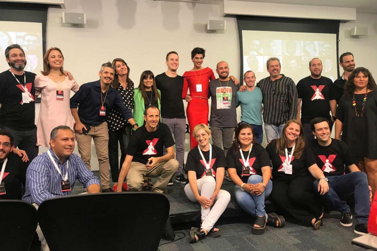 Equipo del primer TEDx Concordia