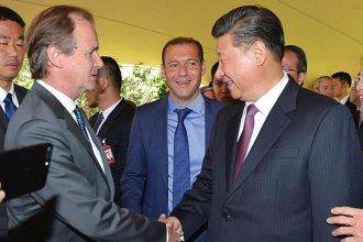 Bordet habló de proyectos y nuevas obras con el presidente de China
