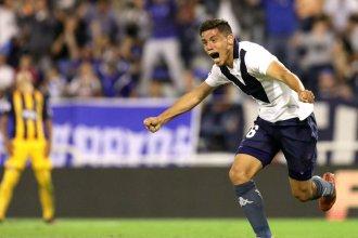 """""""Que de la mano, del Gringo Heinze"""", explotó el Amalfitani con el gol entrerriano"""