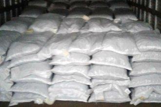 Exportaron 17,5 toneladas de pecán con cáscara, de Concordia a San Pablo