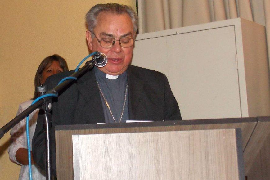Monseñor Collazuol, obispo de Concordia.