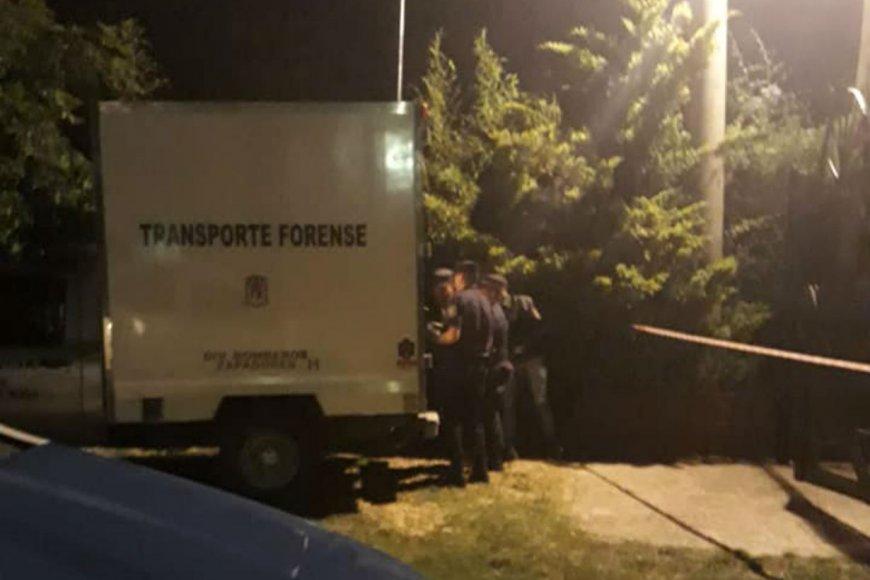 La Policía, anoche en Paraje San José, Paraná.
