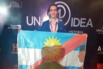 Idea entrerriana fue premiada por History con 10 mil dólares