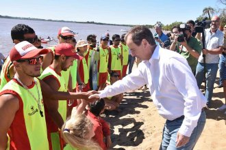 El gobernador en Colón: Con el lanzamiento del operativo Verano Seguro, comenzó la temporada