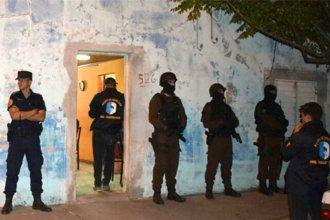 Tras investigarlos durante un año, detuvieron a 13 narcos que operaban en Entre Ríos
