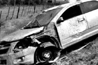 Entrerriano murió al volcar su auto en Ruta 14