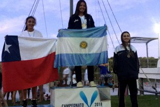 Una entrerriana que vale oro: Vicky es campeona sudamericana