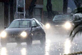 Varias ciudades entrerrianas, en alerta por tormentas intensas a corto plazo