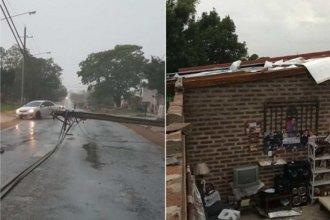 Ciudad entrerriana, afectada por el temporal: hay al menos 50 familias asistidas