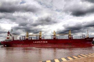 Bajo bandera de Hong Kong, arribó a Entre Ríos en busca de 22 mil toneladas de madera