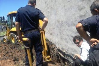 Los restos óseos encontrados en Gualeguaychú fueron enviados a analizar por antropólogos forenses