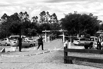 Conocido accionista de la costa del Uruguay fue acribillado en la entrada de su casa