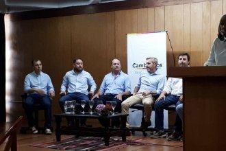 Frigerio estuvo presente en el lanzamiento de candidatura de Javier Melchiori