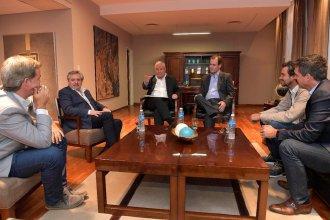 Alberto Fernández se reunió con el gobernador Bordet, los intendentes Cresto, Piaggio y Lauritto