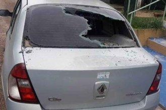 Mañana de furia: Fueron en busca de droga y terminaron provocando daños