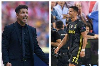 El Atlético de Simeone se cruzará con la Juventus de Ronaldo y Dybala