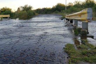 Preocupa el posible derrumbe de un puente sobre arroyo entrerriano