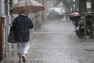 Alerta por tormentas fuertes para una zona de la provincia