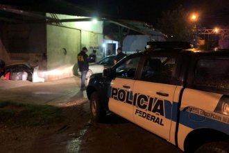 Un operativo con más de 50 efectivos de la Federal sacudió la tarde de Pueblo Liebig