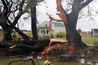 El temporal en San Salvador generó daños por casi 2 millones de pesos